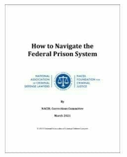 How To Navigate The Federal Prison System