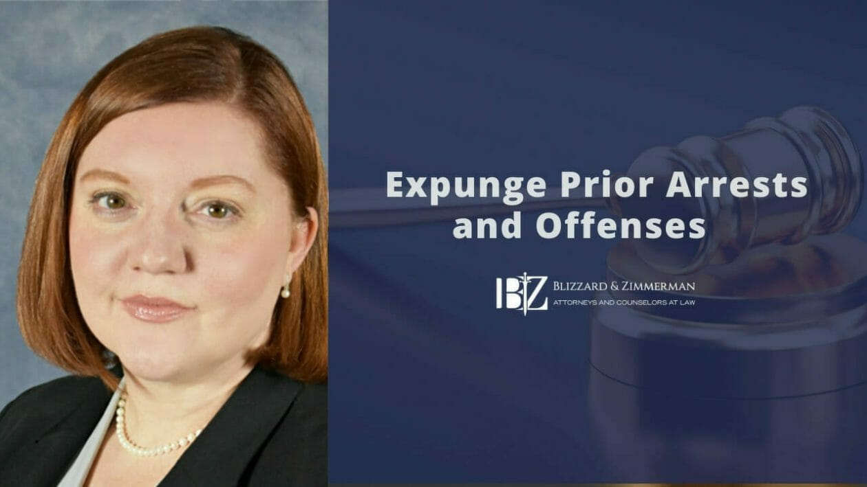 Expunge Prior Arrest and Offense