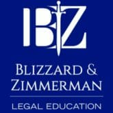 Blizzard and Zimmerman Legal Education